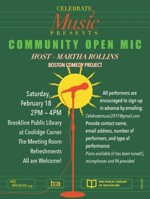 Community Open Mic Feb 18, 2017