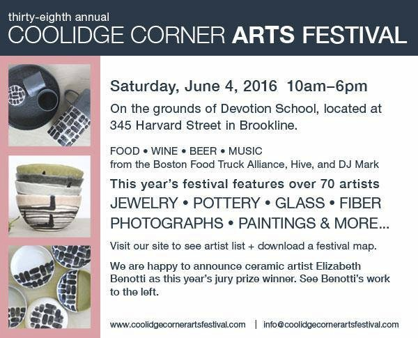 38th Annual Coolidge Corner Arts Festival 2016