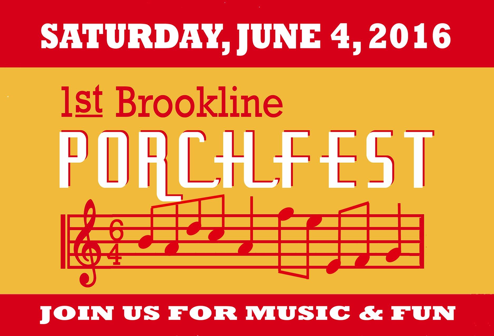 Brookline Porchfest 2016