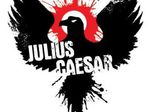 Scenes from Julius Caesar performed by Commonwealth Shakespeare Co at Brookline Public Library