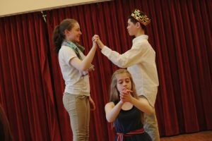 Much Ado About Nothing, a Boston Theater Co Teen Troupe presentation at Brookline Village Library