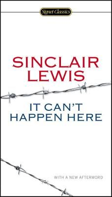 It Can't Happen Here by Sinclair Lewis, an all night public reading at Brookline Booksmith